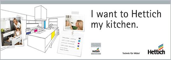 I want to Hettich my kitchen